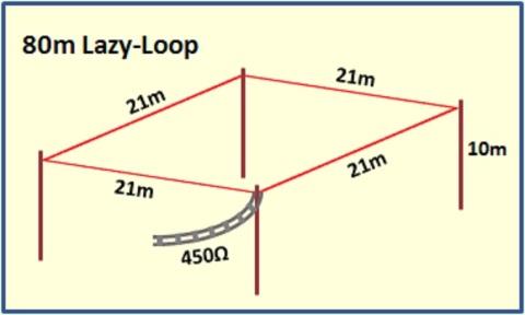 Long wire antenna - VK6YSF