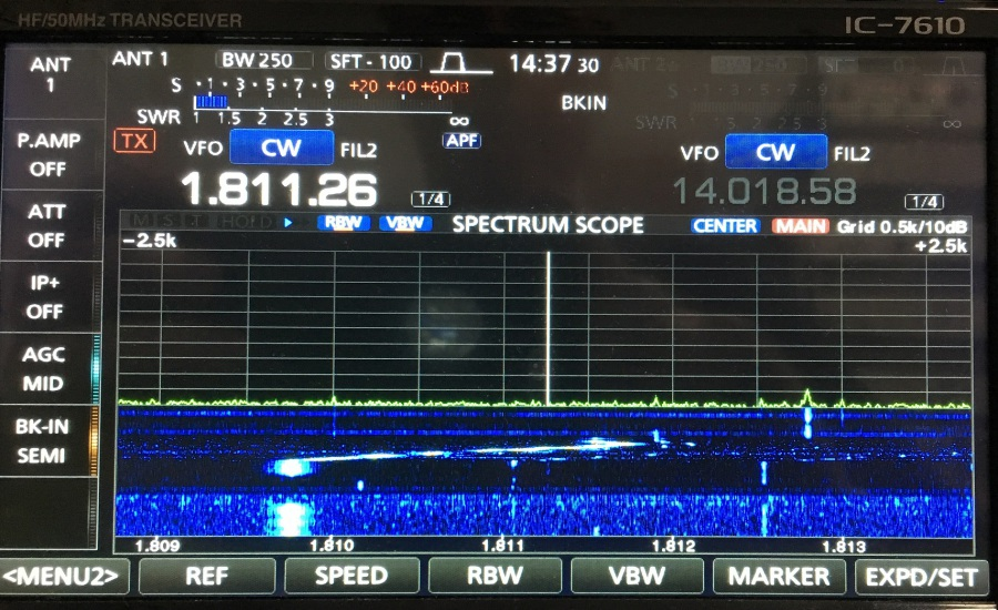 Ham Radio Site - <KENWOOD 890S vs ICOM 7610>