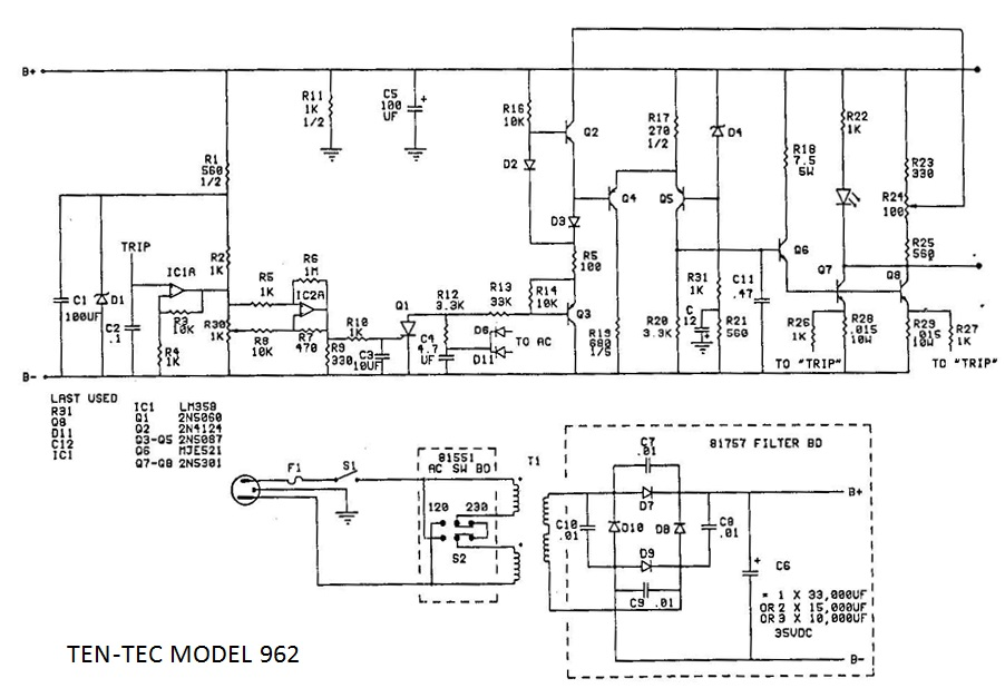 balun schematic with Model 962 P S on Model 962 P S as well Ctcss Dtmf Tone Decoder Encoder Circuit further Pag13 eng furthermore Wiring Diagram For Manitowoc Ice Machine also Rf Mixer Mezcladores De Rf.